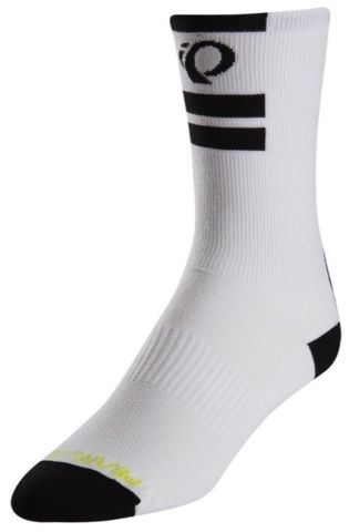 Pearl Izumi Elite Tall Long Core Socks -White  L