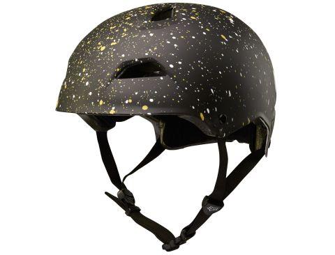 Fox Flight Splatter 2018 Helmet -Black/Gold  M