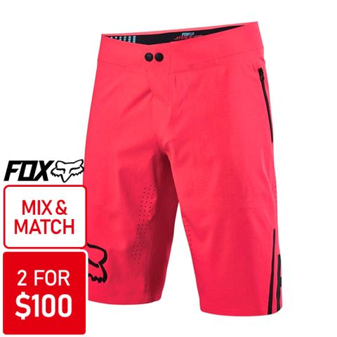 Fox Attack Pro Shorts 2016 [Colour: Pink] [Size: 32