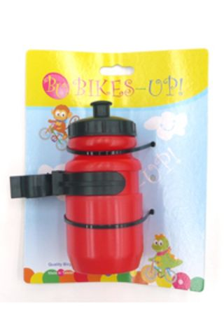 Kids Mini Water Bottle 400ml Red