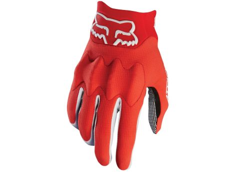 Fox Attack Gloves 2017 [Colour: Red/Black] [Size: S