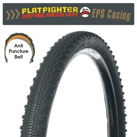 Tyre 27.5 x 1.95 Bikecorp Flat Fighter Gritty Slick
