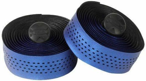 Handlebar Tape RAVX Fiber Wrap Metallic Blue