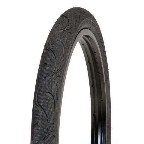 Bikecorp 20 x 1.95 Slick Kids Bike Tyre - Black