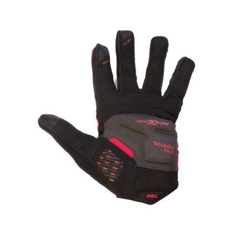 Azur L25 Full Finger Gloves -Red  L