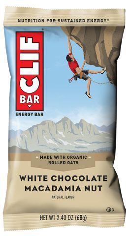 Food Clif Bar White Chocolate Macadamia
