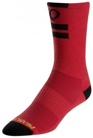 Pearl Izumi Elite Tall Long Core Socks -Red  L