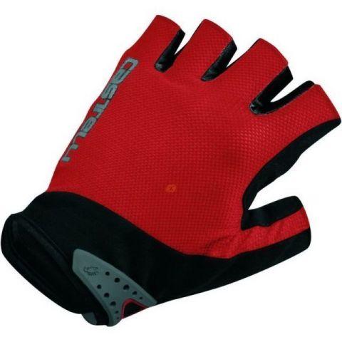 Castelli Uno Gloves -Red  S