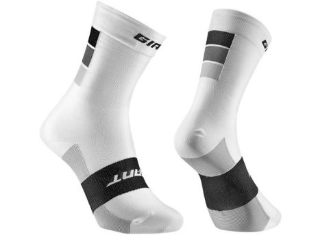 Giant Elevate Socks [Colour: White/Grey] [Size: S]