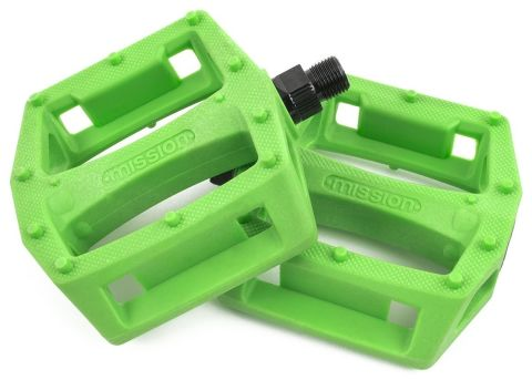 Pedal Bmx Mission Impulse Plastic Green