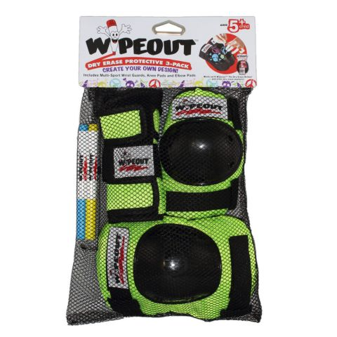 Guard Set Youth Wipeout Dry Erase 5 years+ -Fluro Y