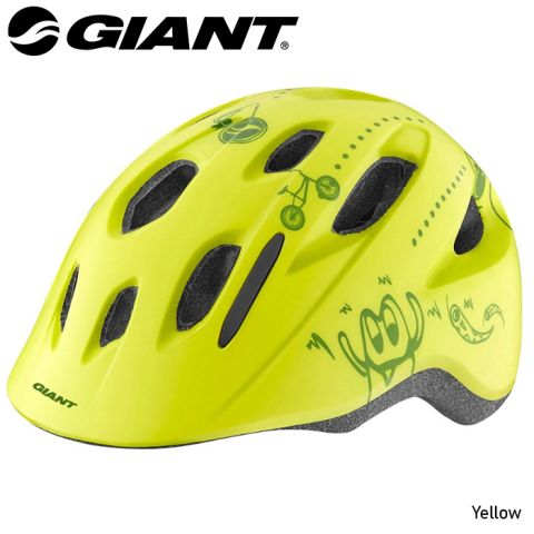 Giant Holler Helmet -Yellow  XS 46-51cM