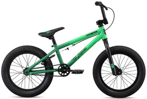 Mongoose Legion L16 Kids BMX - Green