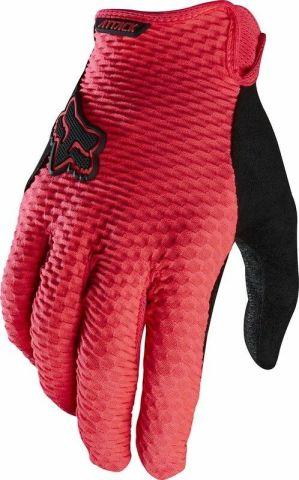 Fox Attack Full Finger Gloves 2016 [Colour: Yellow]