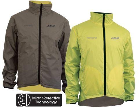 Azur Transverse Reversible Cycling Jacket - XS