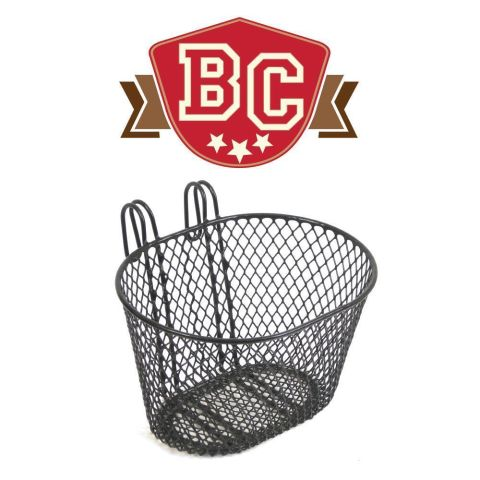 Kids Mesh Basket Black
