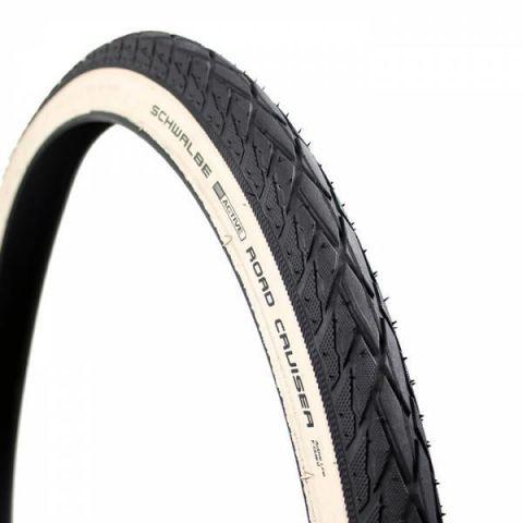 "Schwalbe WhiteWall Road Cruiser 26"" x 1.75 Tyre"