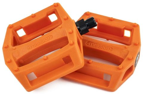 Pedal Bmx Mission Impulse Plastic Orange