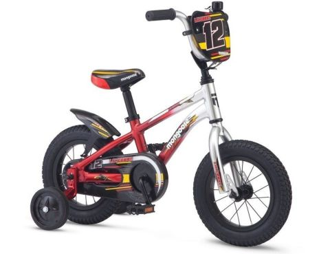 """12"""" Mongoose Lilgoose - Silver/Red"""