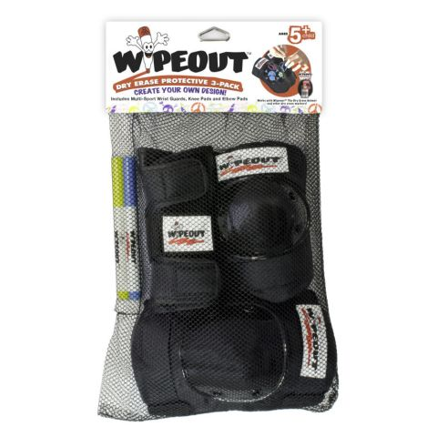 Guard Set Youth Wipeout Dry Erase 5 years+ -Black