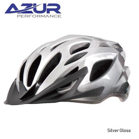 Azur L60 Helmet -Silver GlosS   M/L