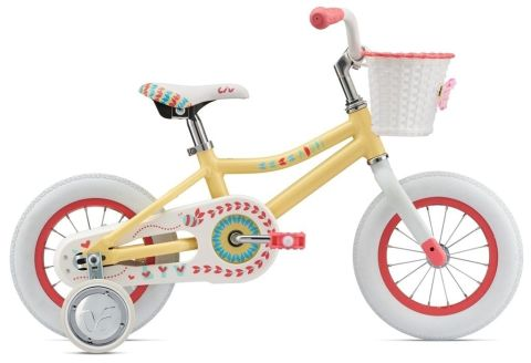 "12"" Liv Adore Girls Bike - Yellow"