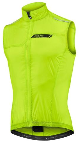 Giant Superlight Wind Vest -Neon Yellow  L