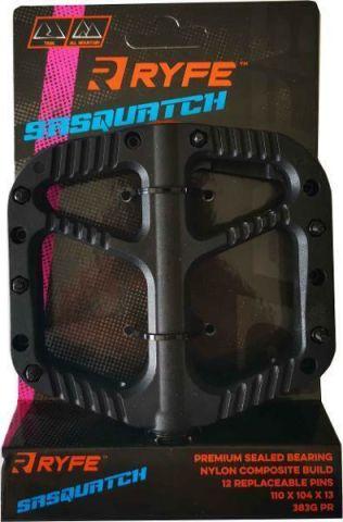 Ryfe Sasquatch Sealed Bearing 9/16 Pedals Black