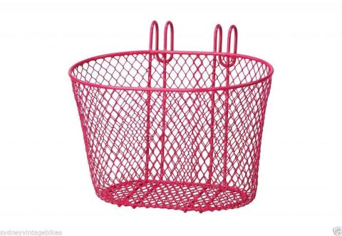 Kids Mesh Basket  Hook On Pink