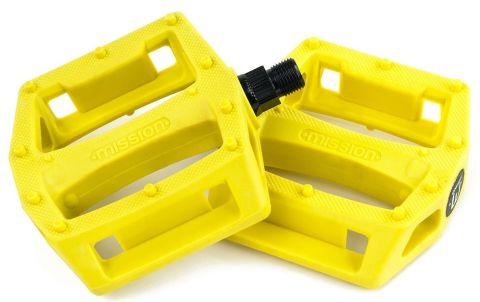 Pedal Bmx Mission Impulse Plastic Yellow