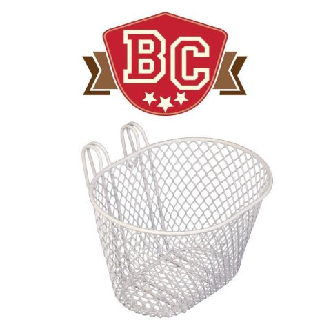 Kids Mesh Basket  White