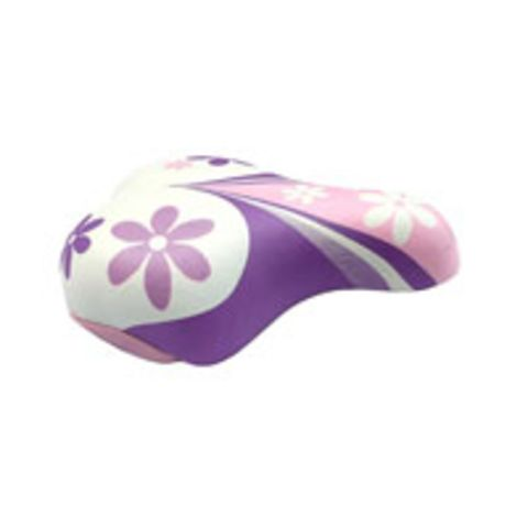 Kids Saddle with Clamp Pink/White 3781b