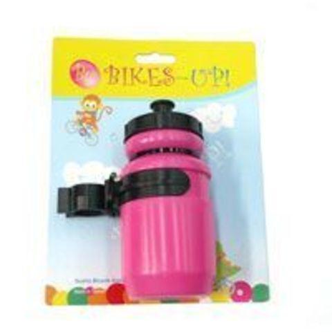 Bikes Up Kids Mini Water Bottle - Pink