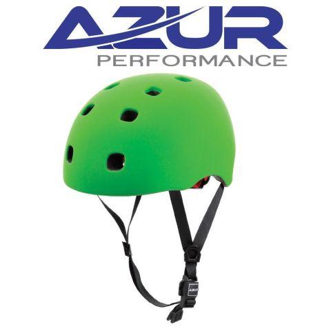 Azur U90 BMX Helmet - Satin Green - Large/XL
