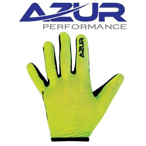 Azur L30 Full Finger Gloves -Fluro Yellow  M
