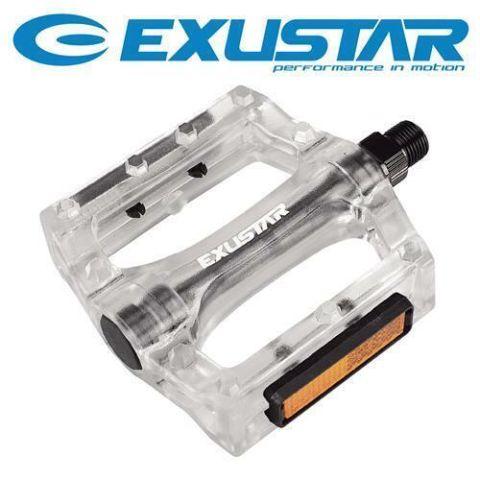 Exustar Bmx Pedals Clear