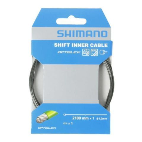 Shimano Optislick Inner Gear Cable 1.2mm x 2100mm