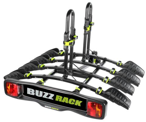 Carrier Buzzrack Buzzybee 4 Bike Tilt Towball Platf