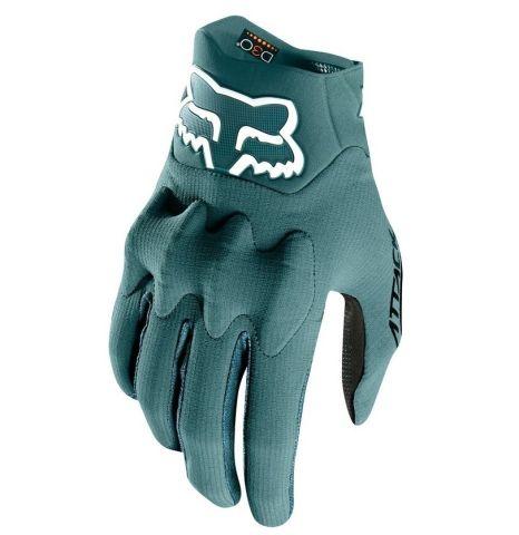 Fox Attack Full Finger Gloves 2018 [Colour: Pine Gr