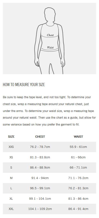 Giro Jersey Womens Size Guide