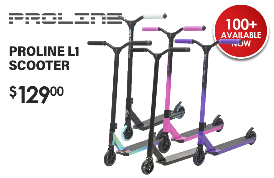 Proline Scooter 1 Xmas Promotion Banner
