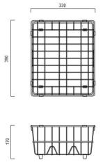 Piato/Seta Dish Basket