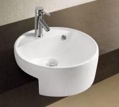 Round Semi-Recessed basin 440*440*170