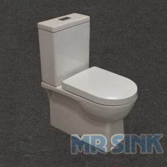 Ventnor Toilet Suite Universal Trap