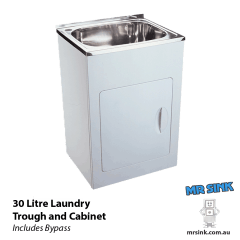 Yakka 30 Litre Tub And Cabinet