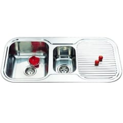 980 Ariette 1 And 1/2 Bowl Sink