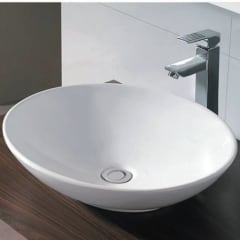 Oval Above Counter Basin 490 x 430 x 110mm