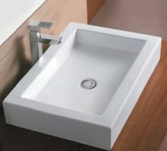 Zeavola ABOVE COUNTER BASIN LOW PROFILE 600 x 400 x 100 (mm)