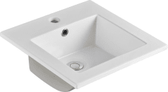 415mm vanity basin 1 Taphole