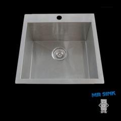 Piato 510 Inset Sink 510x510x244mm 1TH